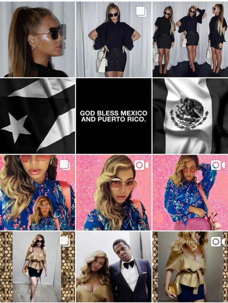 Beyoncé Instagram galéria