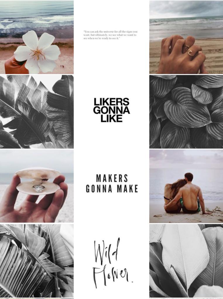 minimalista instagram galéria
